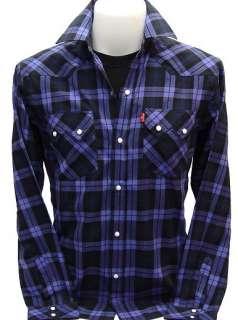 WESTERN Snap CowBoy Vintage Rock Shirt XS S M L