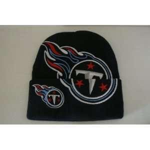 Double Logo Knit Beanie Hat Ski Skull Cap Lid Toque