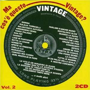 Ma Cose Questo Vintage, Vol. 2: Various Artists: Music