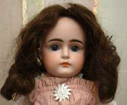 Antique Human Hair wig 4 Antique Jumeau Bru Kestner German French