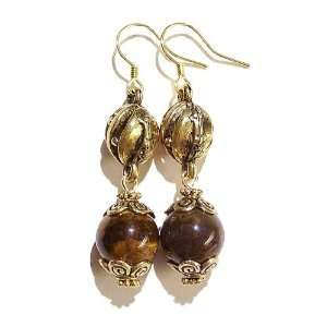 The Black Cat Jewellery Store Tigers Eye & Antique Gold