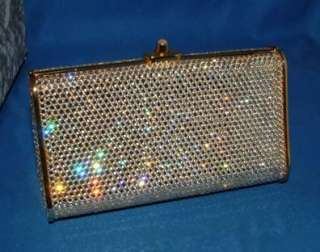 Judith Leiber Handbag purse, Clutch, evening bag, Swarovski Crystal