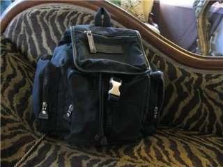 Katharine Hamnett London Black Backpack Purse Handbag