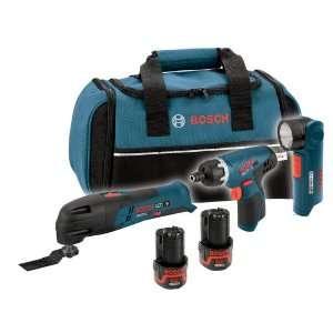 Bosch CLPK31 120 12 Volt Max Litheon 3 Tool Combo Kit
