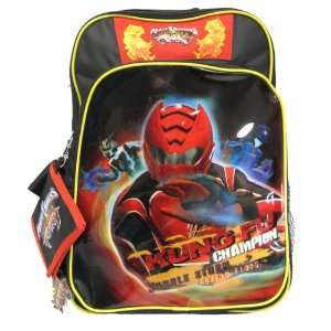 Power Rangers Jungle Fury Large Boys School Backpack with