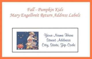 Mary Engelbreit Return Address Labels Pumpkin Girl