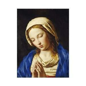 Giovanni Battista Salvi   The Madonna At Prayer Giclee