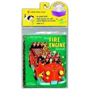 The Fire Engine Book LGB and CD (Little Golden Book & CD