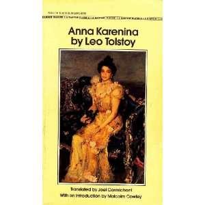 Anna Karenina Leo Tolstoy Books