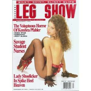 LEG SHOW MAGAZINE NOVEMBER 1995: LEG SHOW: Books