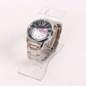 Hello Kitty Metal Wristwatch Wrist Watch Silver