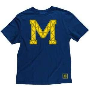 Michigan Wolverines Mens Retro Established T Shirt