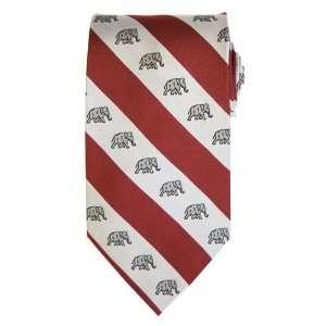 Alabama   Crimson Tide   Al Stripe   Necktie   Tie [Apparel] Sports