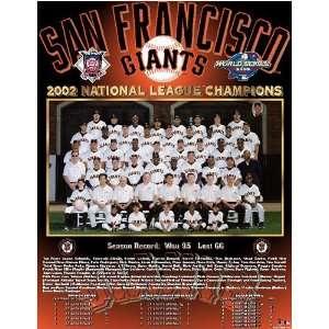 San Francisco Giants    NL Champs 2002 San Francisco Giants