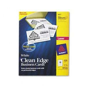 Avery® Two Side Clean Edge Printable Business Cards CARD,CE BUSINESS