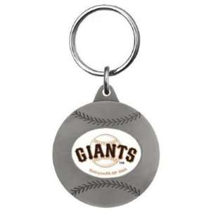 Set of 2 San Francisco Giants Football Key Tag   MLB