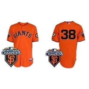 San Francisco Giants #38 Brian Wilson Orange 2011 MLB