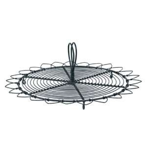 America Retold Café de Paris Black Wire Serving Tray: