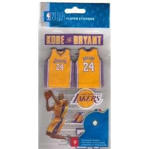 Stickers NBA Kobe Bryant Los Angeles Lakers Arts, Crafts & Sewing