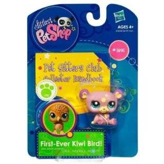 Littlest Pet Shop Pet Sitters Club Collector Handbook Panda