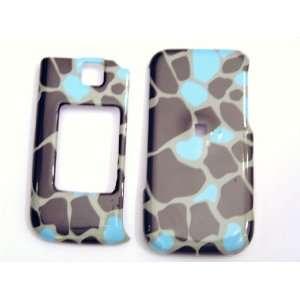 New Light Blue Brown Giraffe Color Design Alias 2 Samsung
