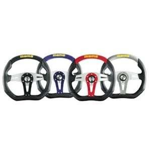 Momo Trek Black Steering Wheel for ALL Makes Automotive
