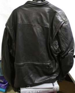Harley Davidson FXRG Leather Jacket size XL (C3)