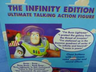 Thinkway Disney Toy Story Talking Buzz Lightyear The Infinity Edition