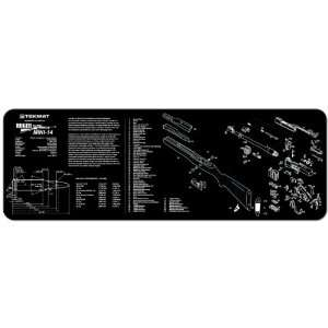 Ruger Mini 14 Ranch Rifle Cleaning and Armorers Bench Mat