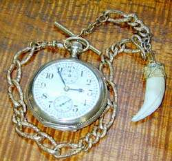 pocket watch chains fobs