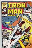 Iron Man Annual #8 comic 1986 X Factor