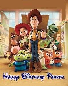 TOY STORY Frosting Sheet Edible Cake Topper |