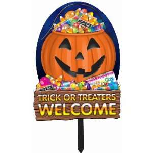 Forum Novelties Inc. Trick or Treators Welcome Sign