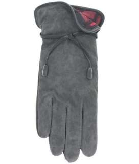 Ladies Suede Leather Gloves w/FLEECE lin. by GRANDOE