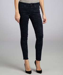 Genetic Denim dark seabrook stretch denim The Raquel cigarette jeans