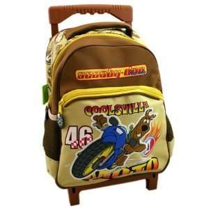 Scooby Doo Junior Trolley Backpack on Wheels Toys & Games