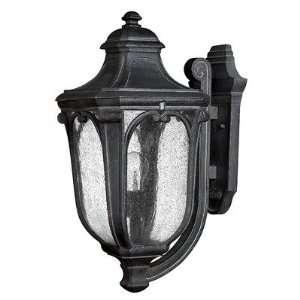 Trafalgar 22 x 10 Outdoor Hanging Lantern in Museum Black   Energy