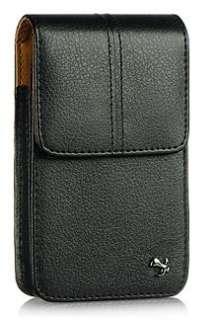 Vertical Leather Belt Clip Holster Pouch Case HTC Evo 4G Desire