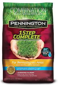 EACH Pennington Grass Seed 1 Step Complete For Bermuda Grass Areas 6