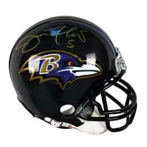 Joe Flacco Autographed Mini Helmet