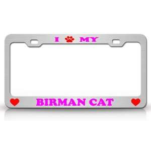 I PAW MY BIRMAN Cat Pet Animal High Quality STEEL /METAL