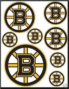 Boston Bruins NHL bumper color sticker decals