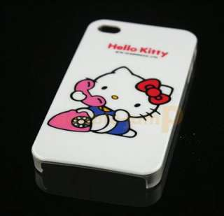 Hello Kitty Hard Case Cover For iPhone 4 4G hk11 New