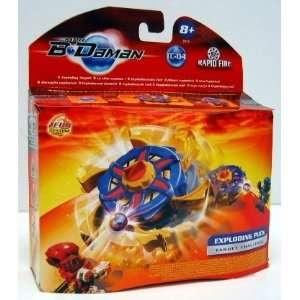B Daman Target Challenge Exploding Puck: Toys & Games