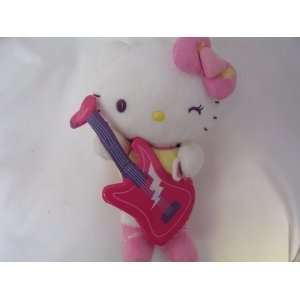 Hello Kitty Plush Toy with Guitar 8 Collectible