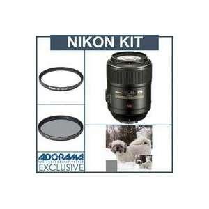 Nikon 105mm f/2.8G ED IF AF S VR Micro Nikkor AF Telephoto
