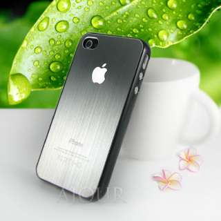 Premium Quality Apple iPhone 4 Case Cover Aluminum Hard Back T002