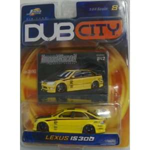 Jada Toys 1/64 Scale Diecast Dub City Import Racer Lexus Is300 No#042