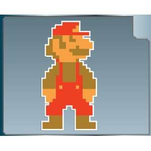 MARIO 8bit from Super Mario Bros. vinyl decal sticker