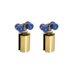 HYD01BR CRL Brass Hydroslide Sliding Door Hanger Kit: Home Improvement